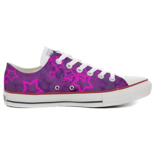 Converse Original CUSTOMIZED with printed Italian style (handmade shoes) Young Star