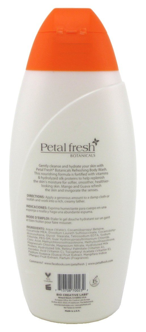 Amazon.com : Petal Fresh Body Wash Mango + Guava 23.6oz (2 Pack) : Beauty
