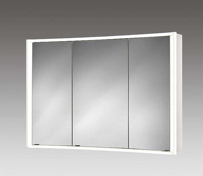 Spiegelschrank Lightcurve 4L mit Licht Beleuchtung von Jokey Badspiegel 100cm