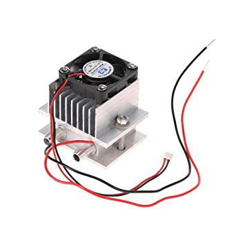 DIY Thermoelectric Peltier Refrigeration Cooling System Fan Kit US