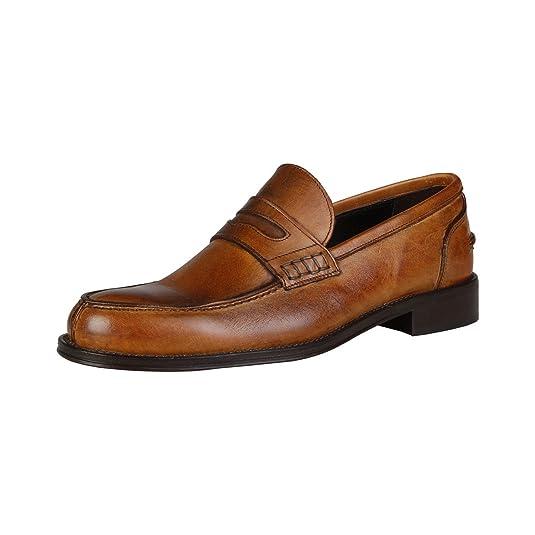 VERSACE 1969 Mocasines de hombre primavera color marrón XAVIER-P: Amazon.es: Zapatos y complementos
