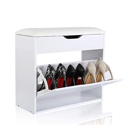 EASEASE scarpiera in legno Panche contenitore scarpe armadio scarpiera da  ingresso mobile scarpiera in legno mobile 2e36dc0997c