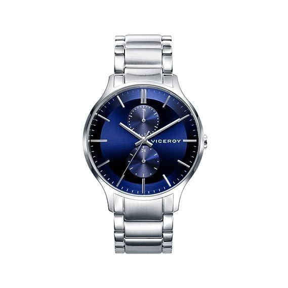 Reloj Viceroy Air 46717-37 Hombre Azul Multifunción