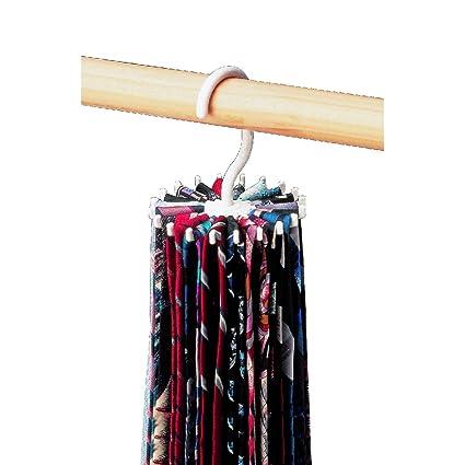 373947b2d378 Amazon.com: Twirl-a-Tie Tie Rack/Organizer: Home & Kitchen