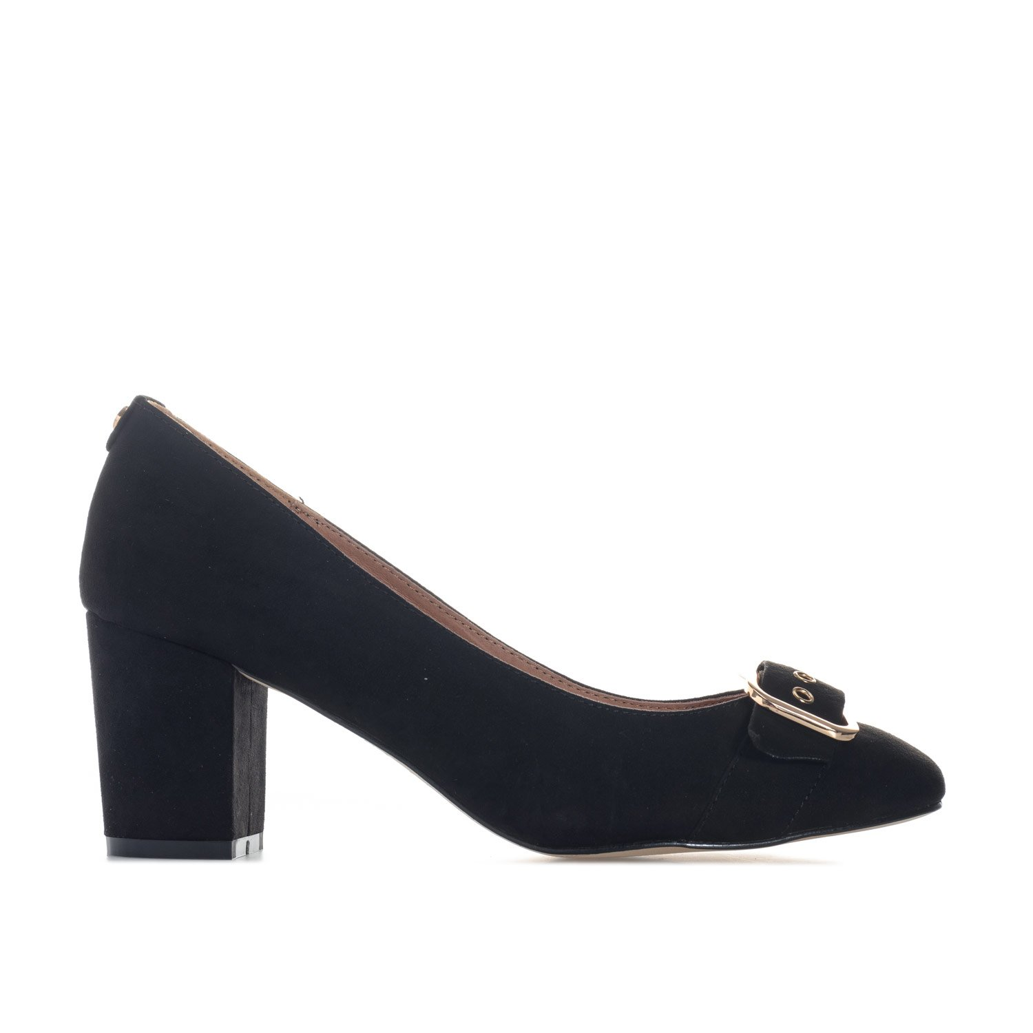 4d756a4d2fad Ravel Womens Hingham Block Heeled Court Shoes in Black  Amazon.co.uk  Shoes    Bags