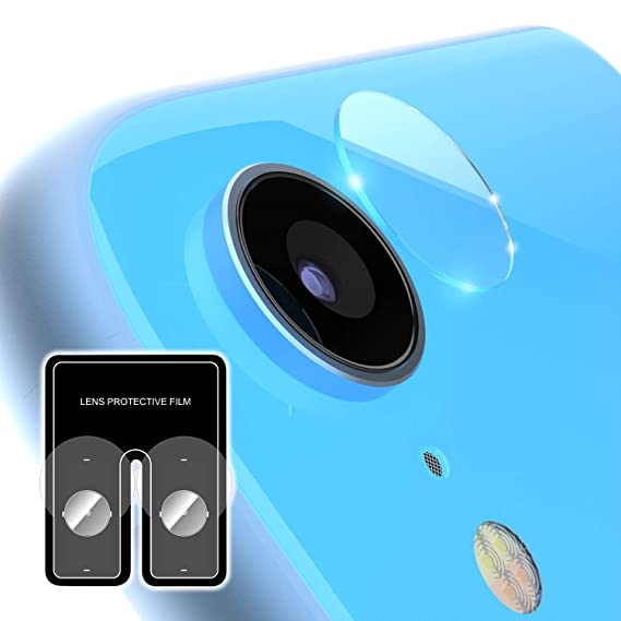 Insten Rear Camera PET Film Screen Protector Compatible with iPhone XR 6 1