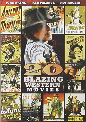20 Blazing Western Movies - Sunglasses Jones Peter