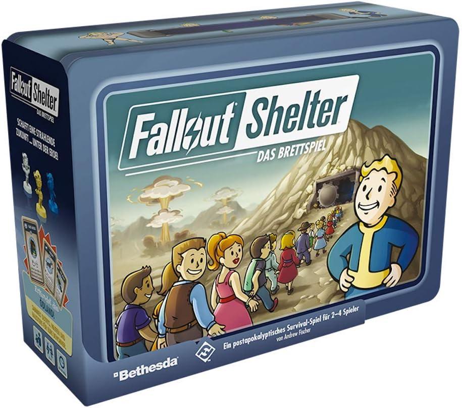 Asmodee Fallout Refugio: El Juego de Mesa: Amazon.es: Juguetes y juegos