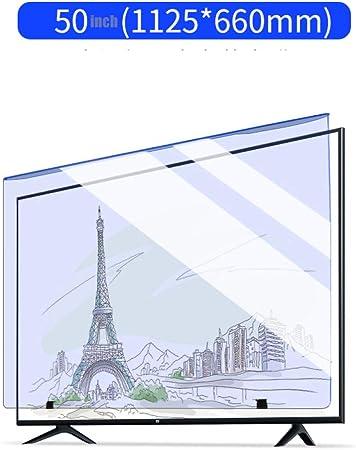 HUYYA Protección de Pantalla Durante 50 Pulgadas TV, Anti Luz Azul Screen Protector Antideslumbrante Anti-rasguños para LCD, LED, OLED y 4K HDTV QLED,B: Amazon.es: Hogar