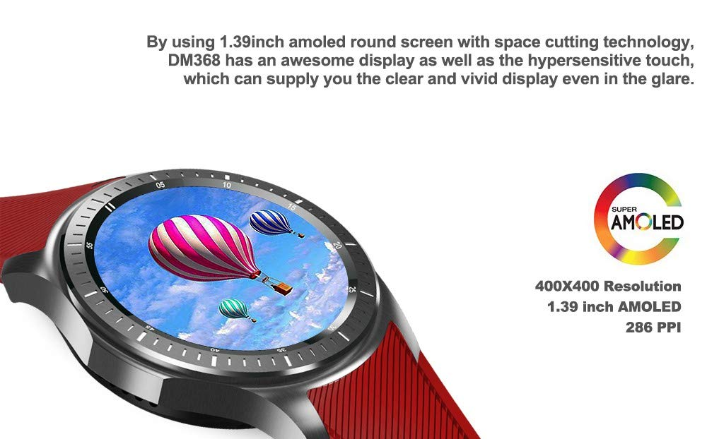 IHCIAIX Reloj Inteligente Smart Watch SmartWatch AMOLED Display ...