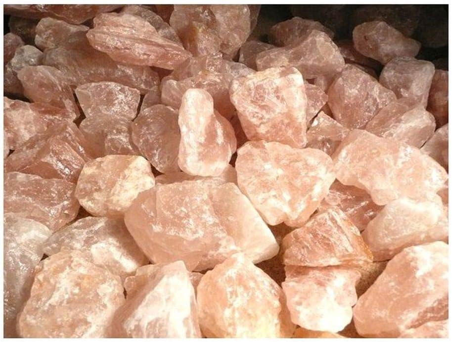 Cuarzo Rosa en Bruto Calidad A (Pack 1 kg) Minerales y Cristales, Belleza energética, Meditacion, Amuletos Espirituales