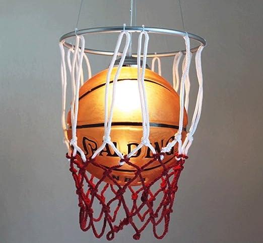 DGF Lámpara de techo, iluminación de baloncesto de vidrio ...