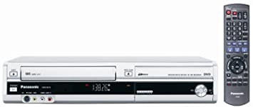 Amazon panasonic dmr ez37vs dvd recordervcr combo with atsc panasonic dmr ez37vs dvd recordervcr combo with atsc tuner silver sciox Choice Image