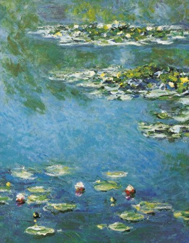 Monet The Water Lily Pond: Blankbook (Blankbook (RB906))