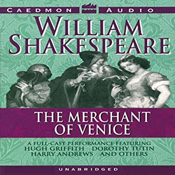 the merchant of venice text of the performance for the shakespeare recording society