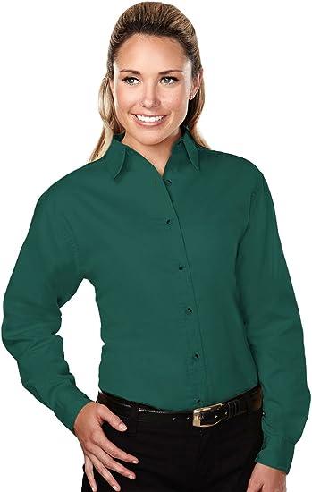 A/&E Designs Ladies Premium Quality Specialist Long Sleeve Twill Shirt