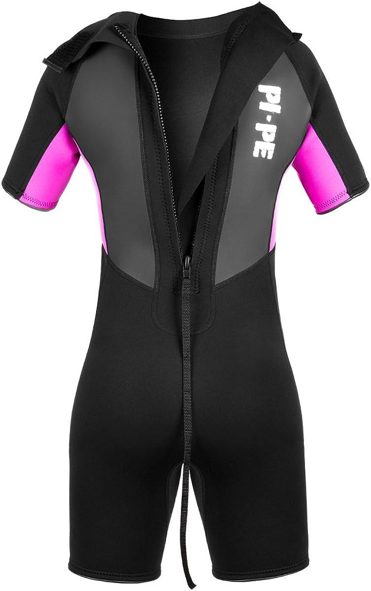 Shorty Schwimmanzug PI-PE Damen Neoprenanzug Pro Spring S//S Tauchanzug