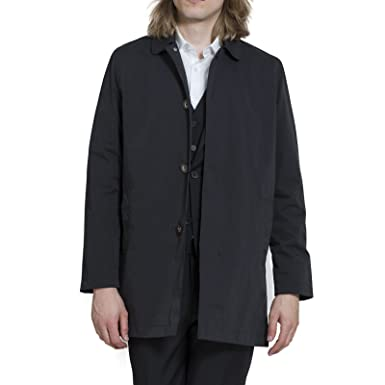 harry brown trench coat single breasted amazon co uk clothing