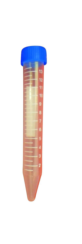 Ajax Scientific Plastic Centrifuge Tube with Screw Cap, 15mL PL015-0015
