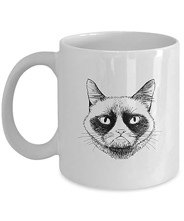 Unique Gift Idea For Cat Lover Birthday Rude Sarcastic Meme Cup