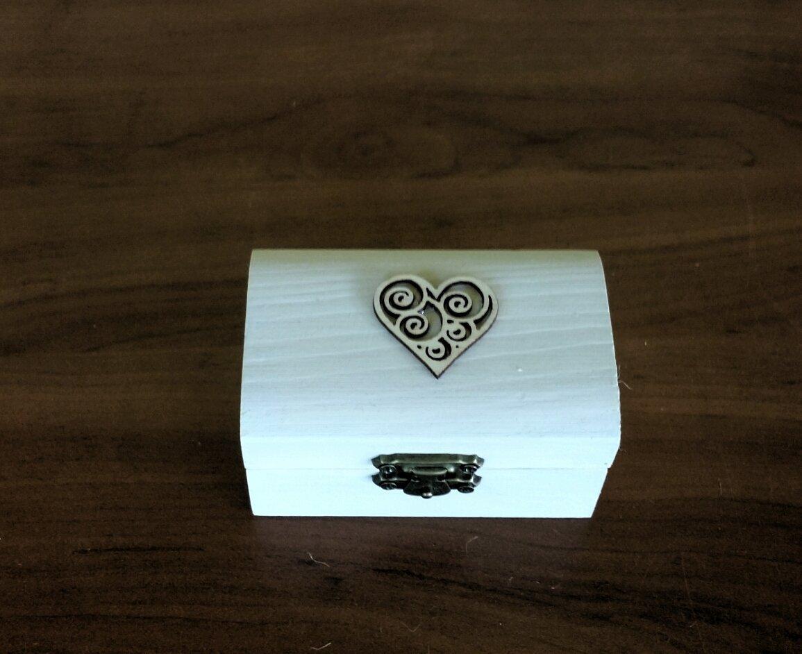 boîte de bague de mariage, boîte porteur d'anneau, boîte à bijoux
