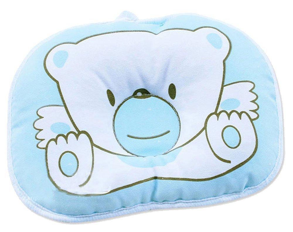 Hot Newborn Baby Boy Girl Anti-roll Pillow Flat Head Sleeping Positioner Bear Generic NA