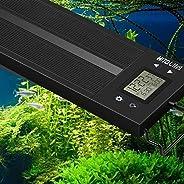 HiTauing LED Aquarium Light, Auto On Off 12-54 Inch Full Spectrum Fish Tank Light Plant Aquarium Programmable