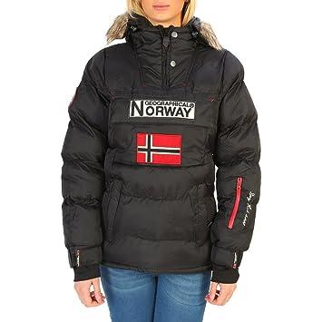 Geographical Norway Anson_woman Chaquetas Mujer Negro 2: Amazon.es: Ropa y accesorios