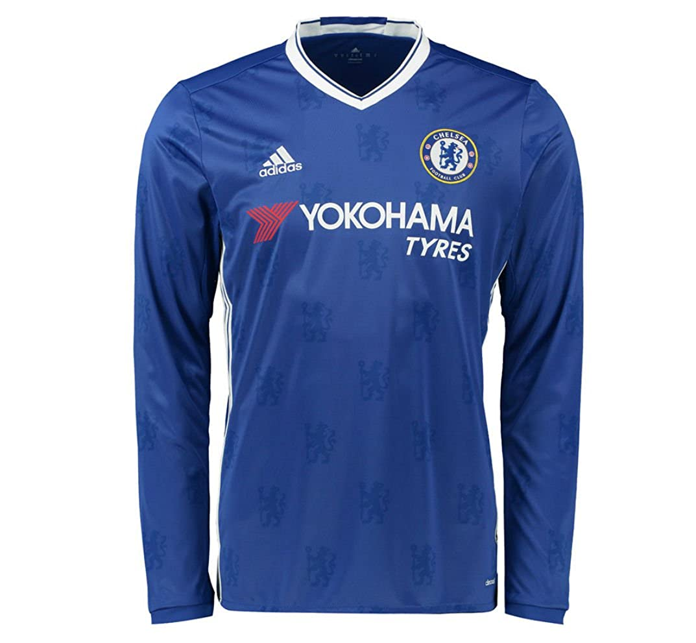 Adidas Chelsea 16 Langarm cheblu Jersey, Schwarz