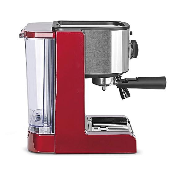 Cafetera Beem 02051 Espresso Perfect | Cafetera expreso para café molido (1350 W, 15 bares) | Expreso, capuchino, Latte Macchiato, crema XXL, café expreso ...