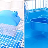 preliked Hamster Cage 2Floors Storey with Slide