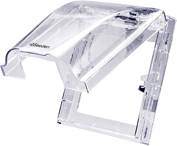 Uxcell caja impermeable 86 tipo interruptor de pared enchufe caja ...