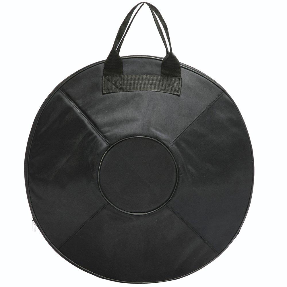 Advanced Version''Lark Music'' hand pan in D Minor 9 notes steel hand drum + Soft Hand Pan Bag (22.8'' (58cm), Deep Blue (D Minor) 9 notes D3 A Bb C D E F G A) by Lark Music (Image #3)