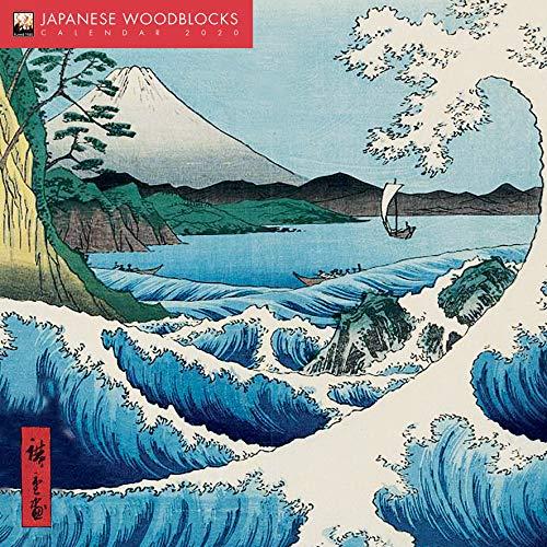 Japanese Woodblocks Wall Calendar 2020 (Art Calendar) (Japanese Block Prints)
