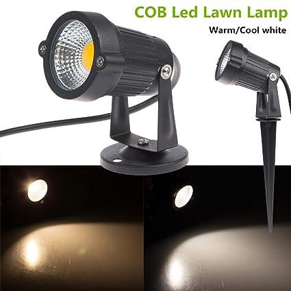 LED Spike Light Bulb Lamp Spotlight Outdoor Garden Yard Path Pond Landscape WT
