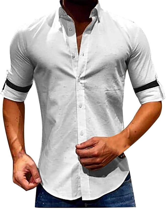 T Shirt Uomo Kword Camicie Slim Fit per Uomini Maglie a