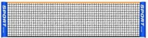 Durable Nylon Mesh Net Replacement Portable for Badminton Tennis Pickleball Volleyball Training Indoor Outdoor Yard Sports