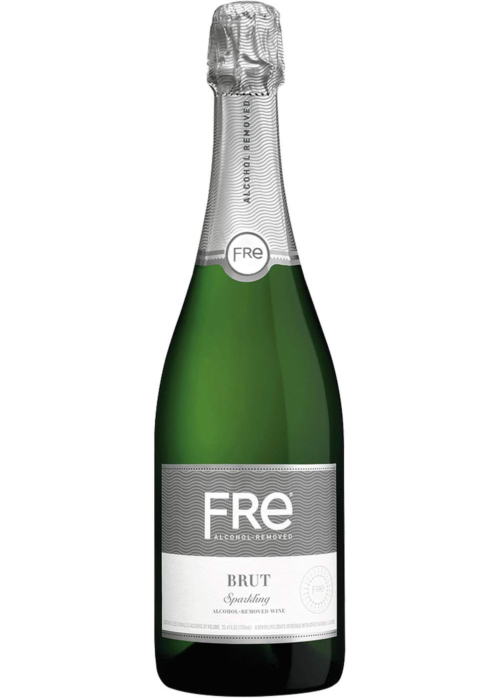 Sutter Home FRE Brut Non-Alcoholic Champagne & Sparkling Wine, Frustration-Free Packaging - 750 Ml | Pack of 6 by Sutter Home