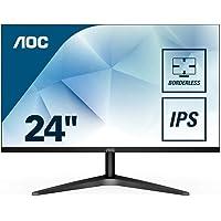 "AOC 24B1XH 23.8"" Full HD WLED LED Backlit Computer Monitor HDMI, VGA Port"