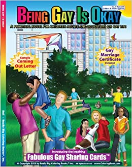 being gay is okay coloring book novel - Big Coloring Books