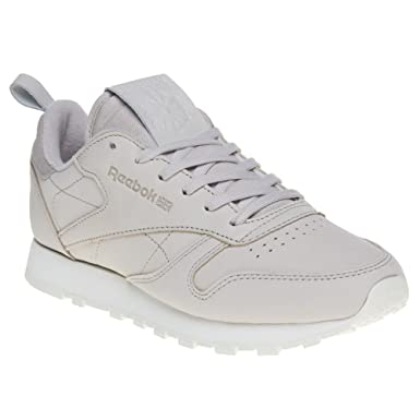 c96f0e247fd97 Amazon.com  Reebok Classic Leather Womens Sneakers Natural  Clothing