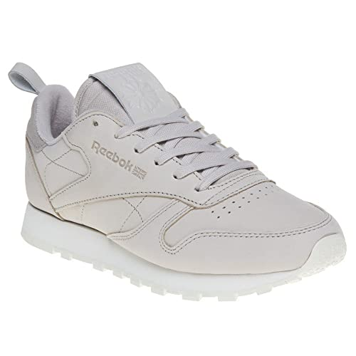 7b892ba2df2 Reebok Classic Leather Trainers Natural  Amazon.co.uk  Shoes   Bags