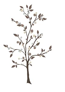 RoomMates Mod Tree Peel And Stick Giant Wall Decals