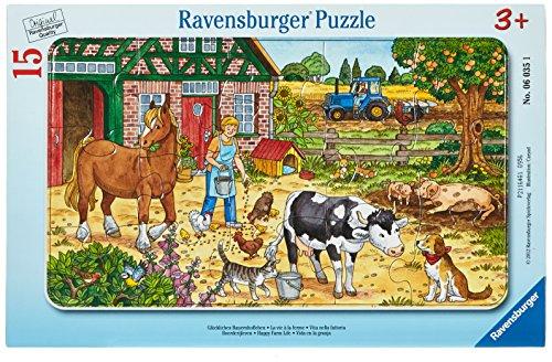 (Ravensburger Happy Farm Life Jigsaw Puzzle (15 Piece))