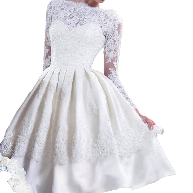 EMIN Damen Abendkleider Kurz Elegant Sexy Kleider ...