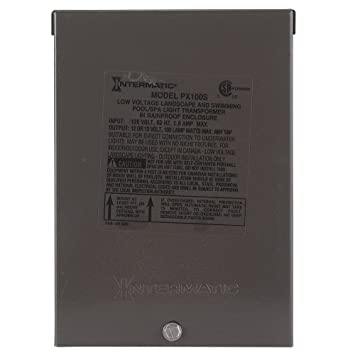 61f3CFzIxAL._SY355_ amazon com intermatic px100s pool light 100 watt safety intermatic px100 wiring diagram at webbmarketing.co