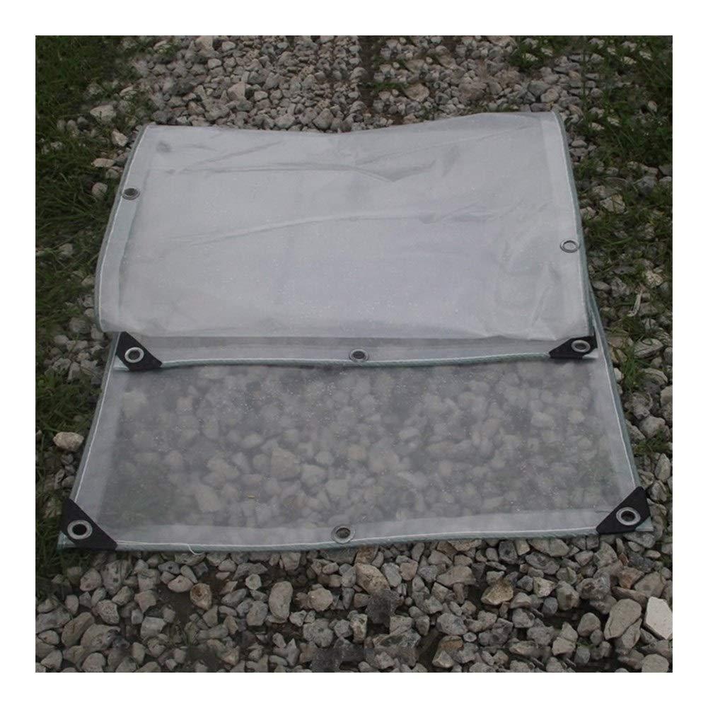2x3M Wangcfsb Imperméable Résistant Complet Complet Transparent Couvercle de la Plante Balcon Couvercle d'Isolation Double Face PVC Verre Souple (Taille   2 x 4m)