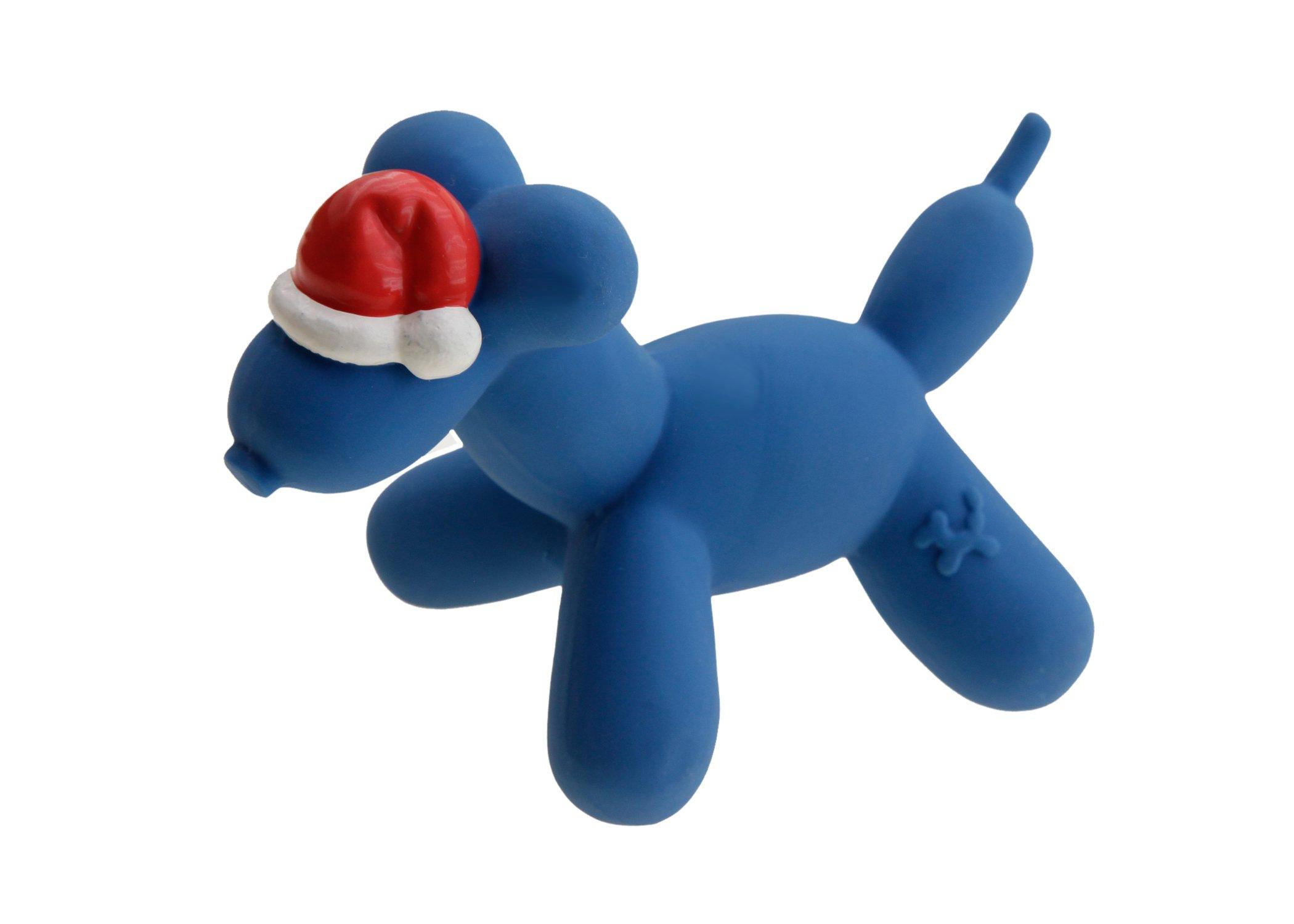 Charming Pet Products Balloon Xmas Dog Mini Latex Dog Toy
