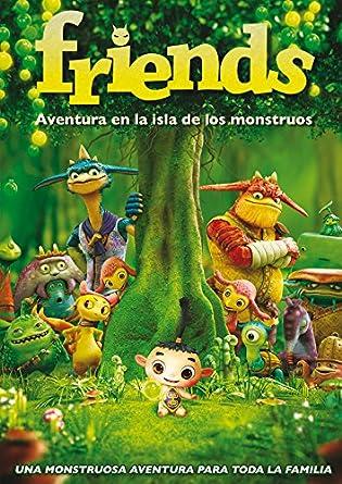 Amazon.com: Friends: Aventura En La Isla De Los Monstruos ...