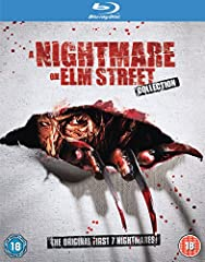 Please note the Bonus DVD is Region 2 and may not be playable on most US players. A Nightmare on Elm Street Collection Now in gleaming hi-def: the original first 7 Nightmares! Blu-Ray Disc 1 - A NIGHTMARE ON ELM STREET  Ready Freddy Focus Poi...